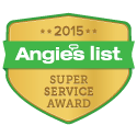 Carruthers Landscape won the 2015 Angie's List Super Service Award